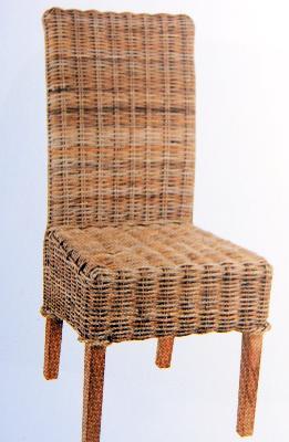 Chaise Abaca Teck Massif 44x52x106cm Livr Avec Galette Crue158EUR